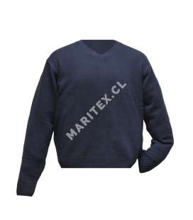 Sweater Manga Larga Cuello V