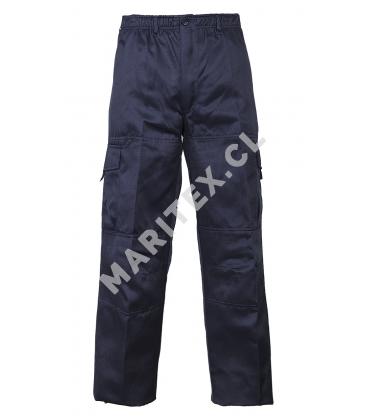 Pantalon Cargo Gabardina Maritex