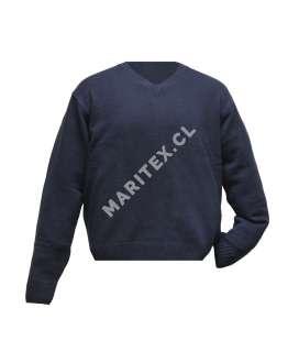 Sweater Manga Larga Cuello V
