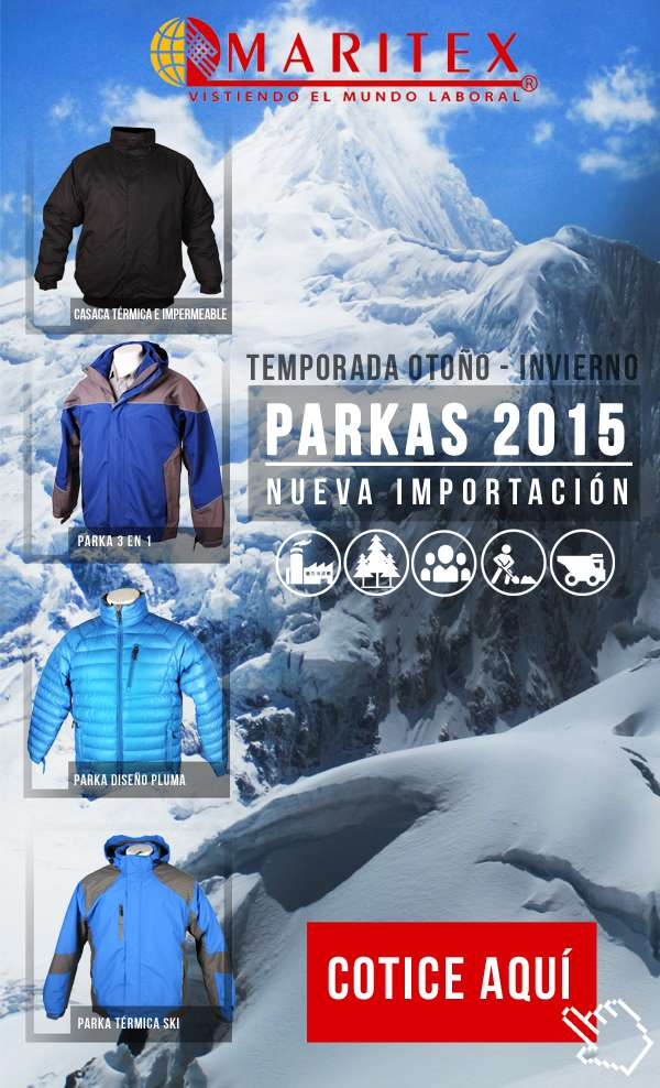 Parkas otoño - invierno 2015